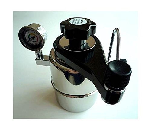 CX-25P Bellman Stovetop Espresso Maker w Pressure Gauge by Taylor & Ng