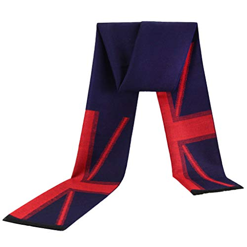 費やすシーズン抽象化スカーフコットン暖かいファッションカラーマッチングの男性のスカーフ、ヨーロッパとアメリカのスタイルのトレンドイギリスの旗 (色 : Fancy 1)