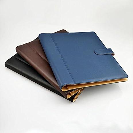 Amazon.com : D&D Multi-function Leather Porfolio Business Padfolio ...