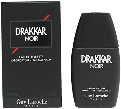 Drakkar Noir By Guy Laroche For Men. Eau De Toilette Spray 1 Ounces