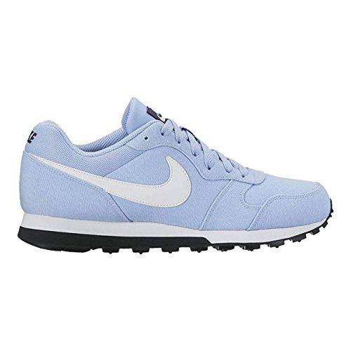 Nike Runner 2 Md Chaussures De Course, Multicolore (aluminium / Dynastie Blanc-violet)