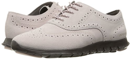 Women's Oxford Cole Suede Closed Lilac Pale Pavement Zerogrand Hole Wing Haan qgw1FwARO