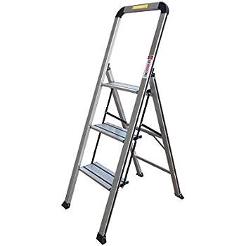 Amazon Com Xtend Amp Climb Sl3hlight Slimline 3 Step Ladder