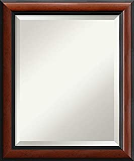 Amanti Art Framed Mirrors for Wall | Regency Mahogany Mirror for Wall | Solid Wood Wall Mirrors | Small Wall Mirror 19.88 x 23.88 (B00D77EO6E) | Amazon price tracker / tracking, Amazon price history charts, Amazon price watches, Amazon price drop alerts