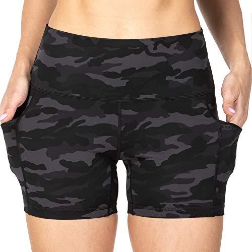 Sunzel 8″ / 5″ Biker Shorts for Women with Pockets, High Waisted Yoga Workout Shorts
