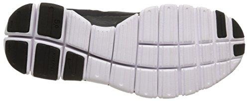 Nike W Nk Free 5.0 V4 NS Pt, Scarpe Sportive, Donna Black/Anthracite-dark Grey-white