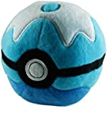 "Pokemon Dive Ball 5"" Pokeball Plush"