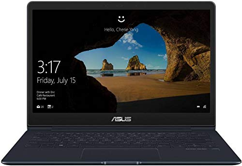 Asus Zenbook 13 UX331  Core i5   8th Gen/ 8  GB/ 256  GB SSD/ 33.78 cm  13.3 Inch  FHD / Windows 10  UX331UAL EG002T Ultra Thin   Light Laptop  Deep Blu