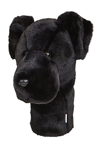 Club Headcover Golf Lab - Oversized Black Lab Golf Head Cover