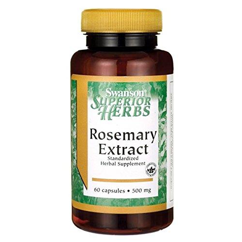 Swanson Rosemary Extract 500 Milligrams 60 Capsules