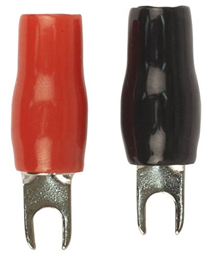 Stinger SPT5124 PRO Series 4 AWG Spade Terminals with 8 Openings and Shoc-Krome Plating