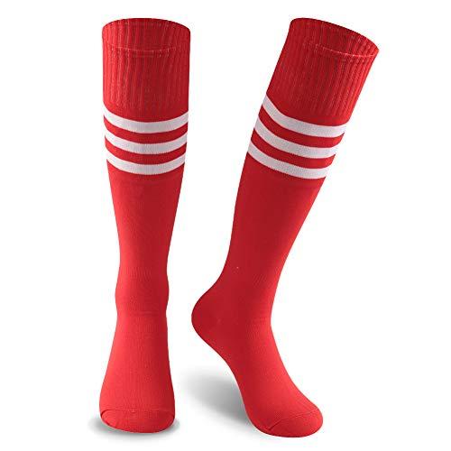KitNSox Long Soccer Socks Men, Womens Over The