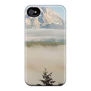 Hot RqY1049MjsM Wonderful Misty Lscape Tpu Case Cover Compatible With Iphone 4/4s hjbrhga1544