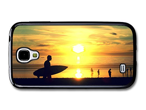 Cool Sunset and Surf on California Beach and Ocean coque pour Samsung Galaxy S4