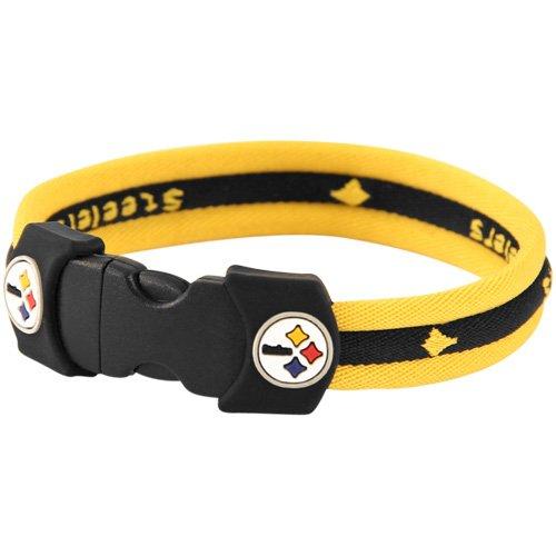 Nfl Sport Bracelet - NFL Pittsburgh Steelers Titanium Sport Bracelet (7)