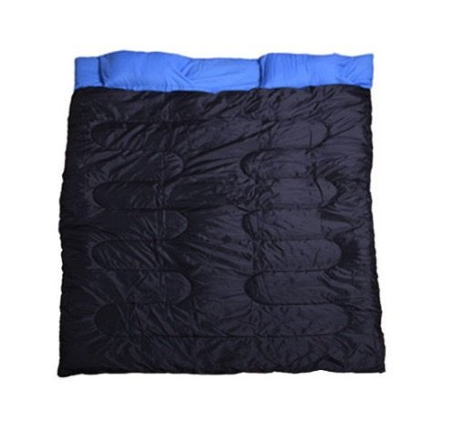 Double Sleeping Bag With Pillows And Carrying Sack 2 Person Outdoor Picnic Camping Hiking Climbing Backpacking Lightweight Sleeping Bag 23F/-5℃ Durable Material Warming Design (Uk Furniture Rattan Garden Cheap)