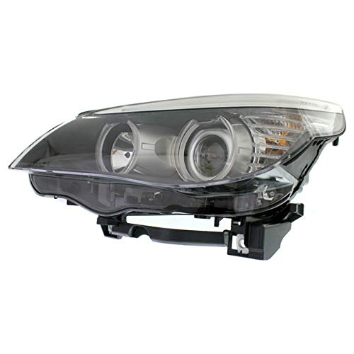 Bmw 5 Series Headlamp - Partomotive For 08-10 BMW 5-Series Front Headlight Headlamp Halogen Head Light Lamp Driver Side