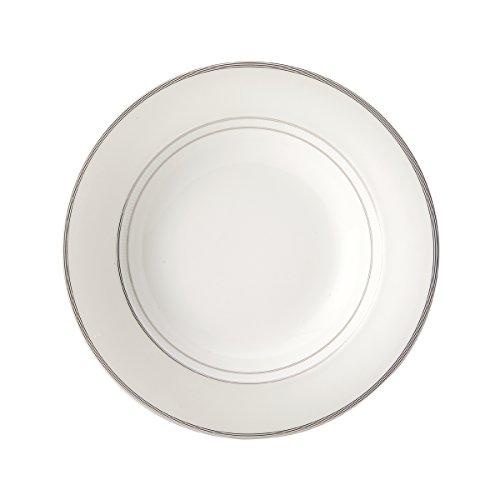 (Mikasa Cheers Platinum Rim Soup Bowl, 9.5-Inch)