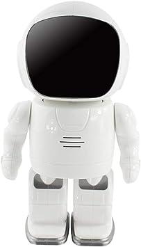 LIRONG Creativo Inteligente Robot Monitor WiFi Cámara casera ...