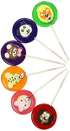 Fish Lollipops (Melville Candy Lollipops, Everyday Icings, 1.4-Ounce Lollipops (Pack of 24))