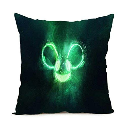 XuLuo Twitch Sona Throw Pillow Covers Zippered Square Twin Sides Pillow Case 18x18inch