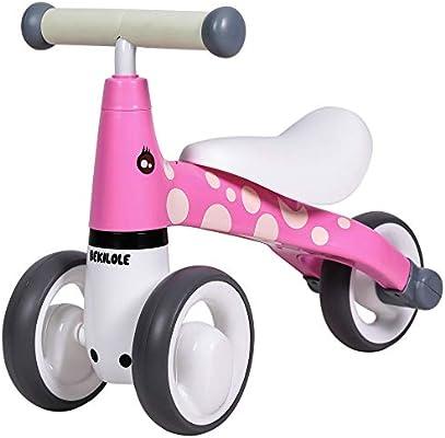 BEKILOLE Baby Balance Bike Ride on Trike Baby Walker 12-24 meses Juguetes para niños de 1 año de edad, niños y niñas, primera bicicleta: Amazon.es: Deportes y aire libre