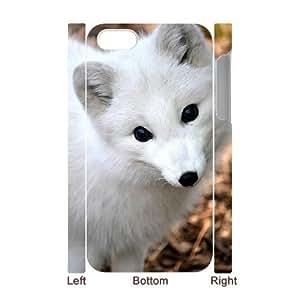 3D Bumper Plastic Case Of Fox customized case For Iphone 4/4s by icecream design