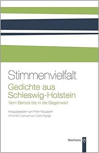 Stimmenvielfalt Gedichte Aus Schleswig Holstein Amazonde