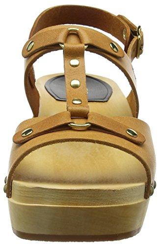 hasbeens Women's Sandal Nature Rivet swedish Clog BdHWBn