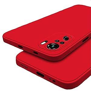 Winble Soft Silicon Protective Back Cover Designed for Redmi Note 10 / Redmi Note 10s (Red)