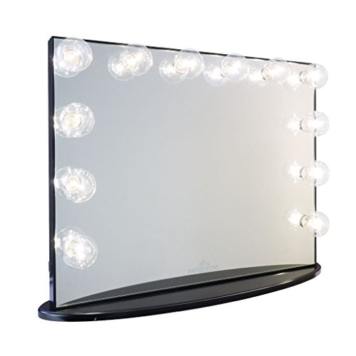 Impressions Vanity Hollywood Glow Plus Vanity Mirror with Cl