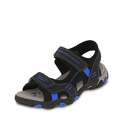 Sandals Hike Boys' Superfit BLAU Grey xR81wqO4