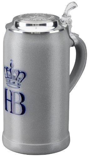 Hofbrauhaus Munchen German Beer Stein 1L Munich Oktoberfest Beer Mug Salt Glaze by Pinnacle Peak Trading Company