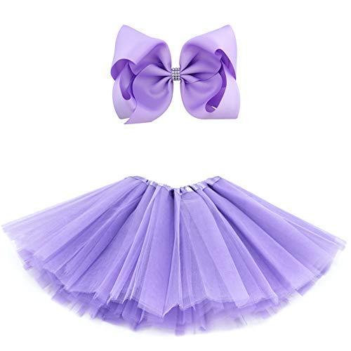 BGFKS 5 Layered Tulle Tutu Skirt for Girls