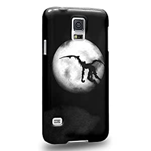 Case88 Premium Designs Death Note Ryuk Death God 1216 Protective Snap-on Hard Back Case Cover for Samsung Galaxy S5
