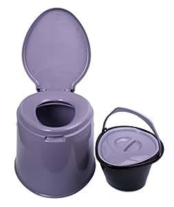 Cubo de WC Emily–Ecológico, práctico camping