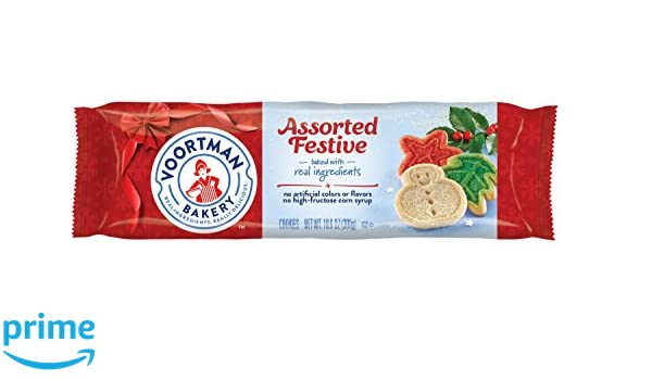 Voortman Bakery Assortive Festive Christmas Cookies Amazon Com