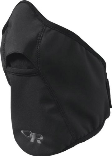 Outdoor Research Face Mask, Black, Large