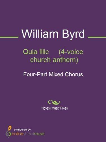 Quia Illic     (4-voice church anthem)