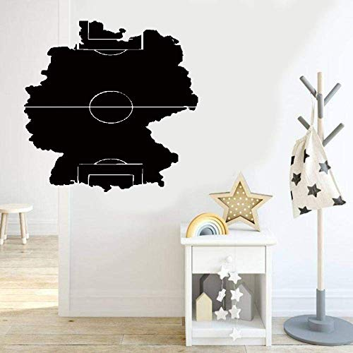 (Vinyl Wall Lettering Stickers Quotes and Saying Wall Decals Soccer Field Football Sports Fan Boys Room)
