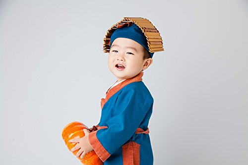 Home Comforts Canvas Print Cute Kids Costume Child Small Farmer Stretched Canvas 10 x 14