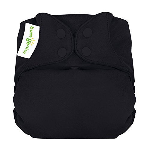bumGenius Elemental 3.0 All-in-One One-Size Cloth Diaper with Organic Cotton (Fearless)