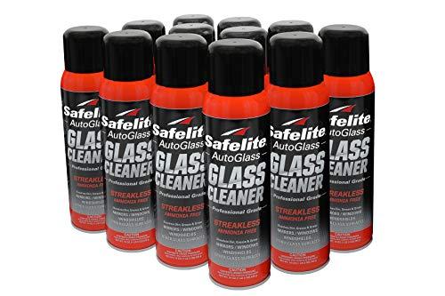 Safelite Glass Cleaner, 19 oz, 12 Pack