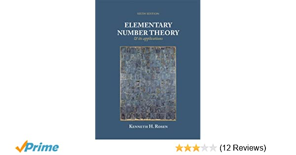 Elementary number theory and its application 6th edition kenneth elementary number theory and its application 6th edition kenneth h rosen 9780321500311 amazon books fandeluxe Choice Image