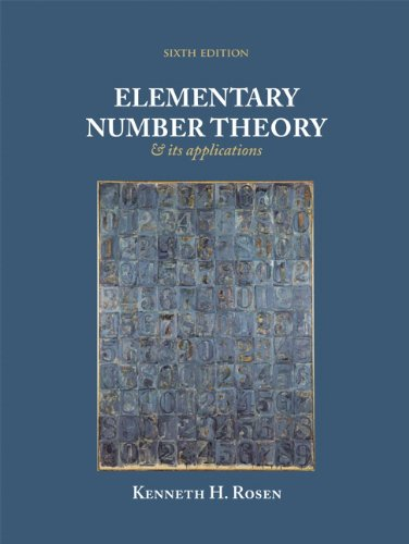 Elementary Number Theory+Its Appl.