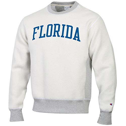 - Champion Men's NCAA Inside Out Reverse Weave Crew Sweatshirt-Florida Gators-Large