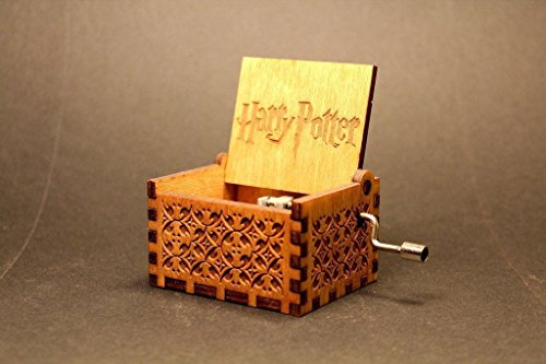 Hedwig Theme Harry Potter Hand Engraved Wooden Music (Idee Originali X Halloween)