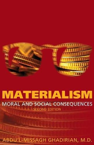 Download Materialism: Moral and Social Consequences pdf epub