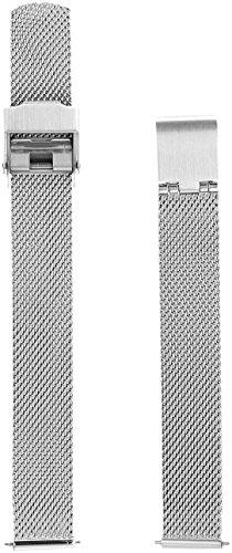 Skagen SKB2035 14mm Interchangeable Steel-Mesh Strap (Watch Bands Skagen Replacement)