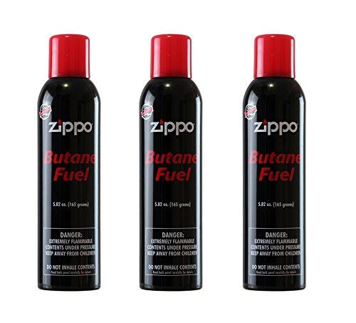 Zippo Butane, 5.82 oz., Pack of 3